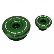 APICO ENGINE PLUG SET KAWASAKI KXF450 09-16 KXF250 11-16 GREEN