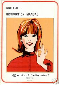 Knitmaster-Knitting-Machine-326-Instruction-Manuals