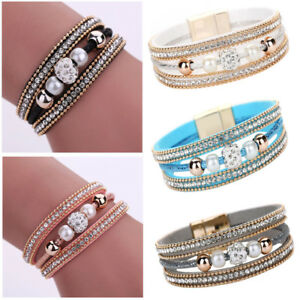 1pc Punk Magnetic Clasp Multilayer