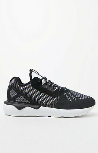 MENS GUYS adidas Tubular Runner Weave Black & White  SHOES SB SNEAKERS NEW  120