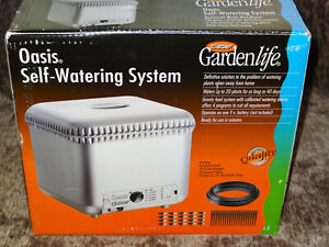 Claber 8053 Oasis 4-Programs//20 Plants Garden Automatic Drip Watering System