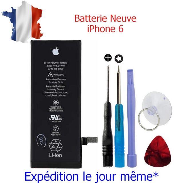 Batterie Neuve pour IPHONE 6 - 0 Cycle - avec Logo