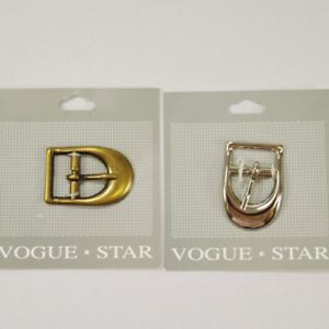 Vogue Star 20 mm D Boucle Large Courbe De Remplacement Boucle Accessoires