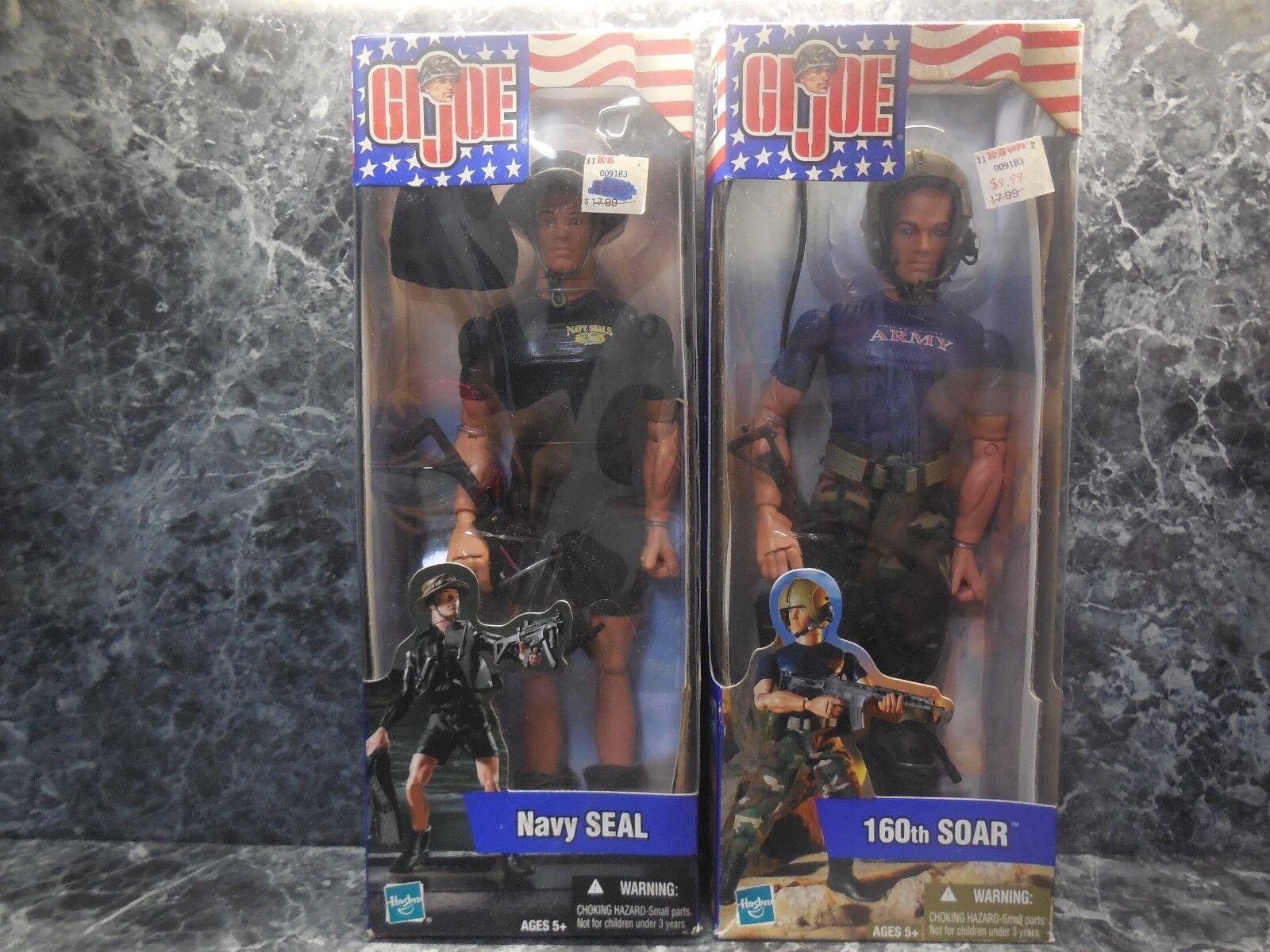 2 2002 G. I. Joe 1 Navy Seal 1 160th armée Soar nouveau
