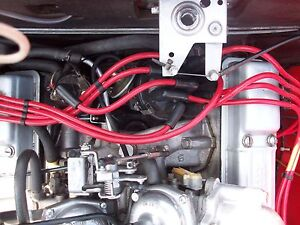 Rouge 8MM Performance Câbles Allumage Triumph Stag Rover 3.0 V8 Qualité