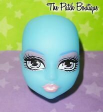 MONSTER HIGH CREATE A MONSTER CAM ICE GIRL DOLL REPLACEMENT BLUE HEAD ONLY #7