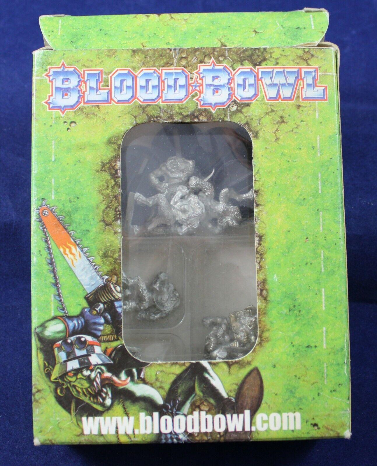 Games Workshop  Blood Bowl-Completo nurgles rojoters equipo (metal) S52