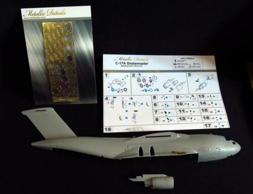 Metallic Details 1//144 Boeing C-17A Globemaster # MD14410