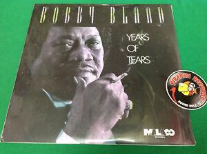 Bobby-Bland-Years-Of-Tears-Malaco-Soul-LP-SEALED-Piranha-Records