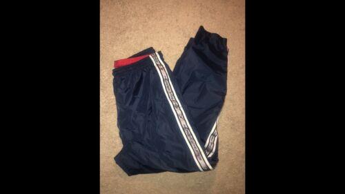 tommy hilfiger athletics vintage windbreaker pants