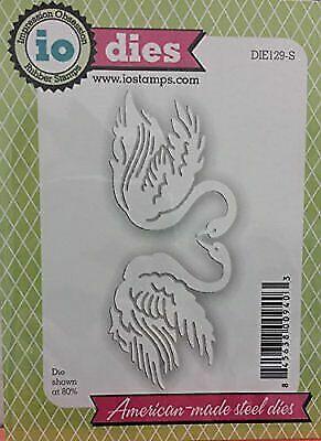 Love SWANS Swan Set Die Cutting Dies by Impression Obsession DIE129-S New