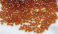 12 pcs-10mm Swarovski Crystal Element  #5000 Round Faceted Beads - TOPAZ AB