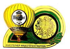 WARSTEINER BALLON Pin / Pins - MAJESTÄTENTREFFEN 2015 (3236)