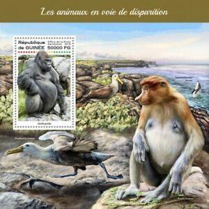 Guinee-2018-animaux-en-voie-de-disparition-Stamp-Souvenir-Sheet-GU18222b
