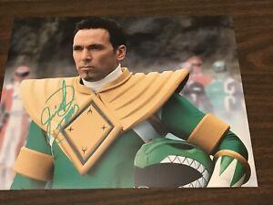 JASON-DAVID-FRANK-signed-8x10-Photo-Mighty-Morphin-Power-Rangers-GREEN-COA