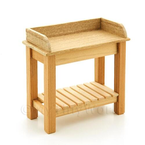 Dolls House Miniature Potting Table