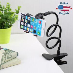 Flexible Lazy Bracket Mobile Phone Stand Holder Car Bed Desk For Smart Phones Ebay