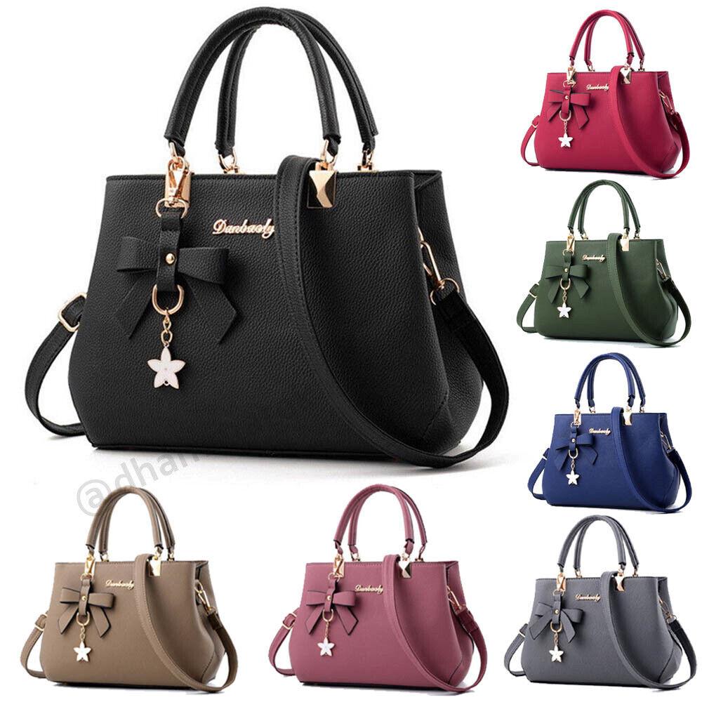 New Ladies Fashion Handbags Shoulder Purse Women Crossbody Leather Tote Designer