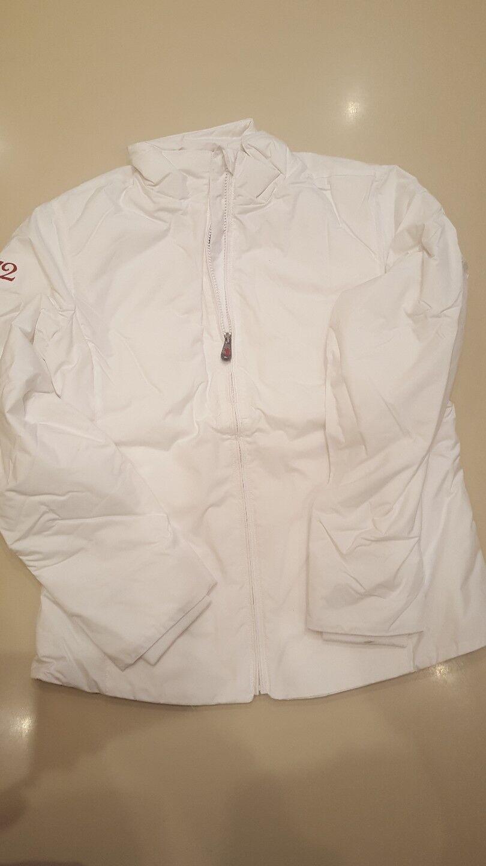 Giubbotto jaggy 1472 bianco  taglia L