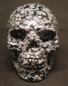 51mm-3-1OZ-Natural-Obsidian-Snowflakes-Crystal-Carving-Art-Skull-gift