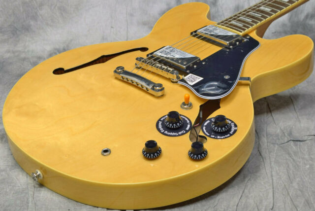 Epiphone Limited Edition ES-335 Pro Natural Free Shipping From Japan