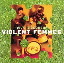Viva Wisconsin by Violent Femmes CD Gordon Gano Brian Ritchie Guy Hoffman 1999