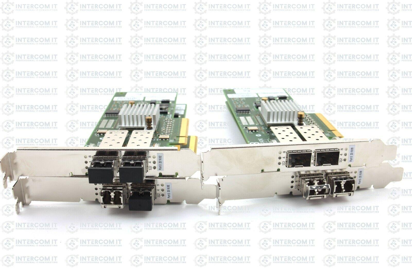 4x Dell 05 gyty FC Controller Brocade 825 8Gb DP FC PCI