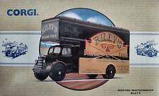 """Corgi British Bedford Pantechnicon """"Riley's Billiard Tables"""" 97090 New in Box"""