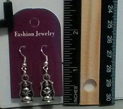 Boho Threaded Ball Earrings For Women Lantern Loop Dangle Earrings Charms