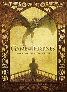 Game of Thrones - Staffel 5 - deutsch - DVD Neu/Ovp