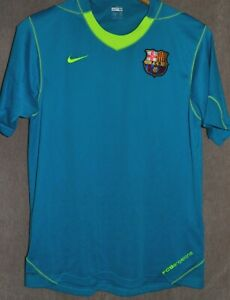 af5f18664 Barcelona FC 2007 2008 Train T-Shirt Camiseta Jersey Size M Nike Kit ...