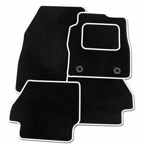 Suzuki kizashi 2012 sur mesure sol tapis de voiture tapis noir mat white trim