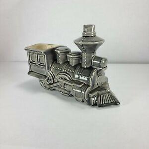 Vintage Ceramic Train Locomotive Planter Railroad