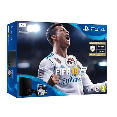 PS4 SLIM 1TB CONSOLA PLAYSTATION 4 + FIFA 18