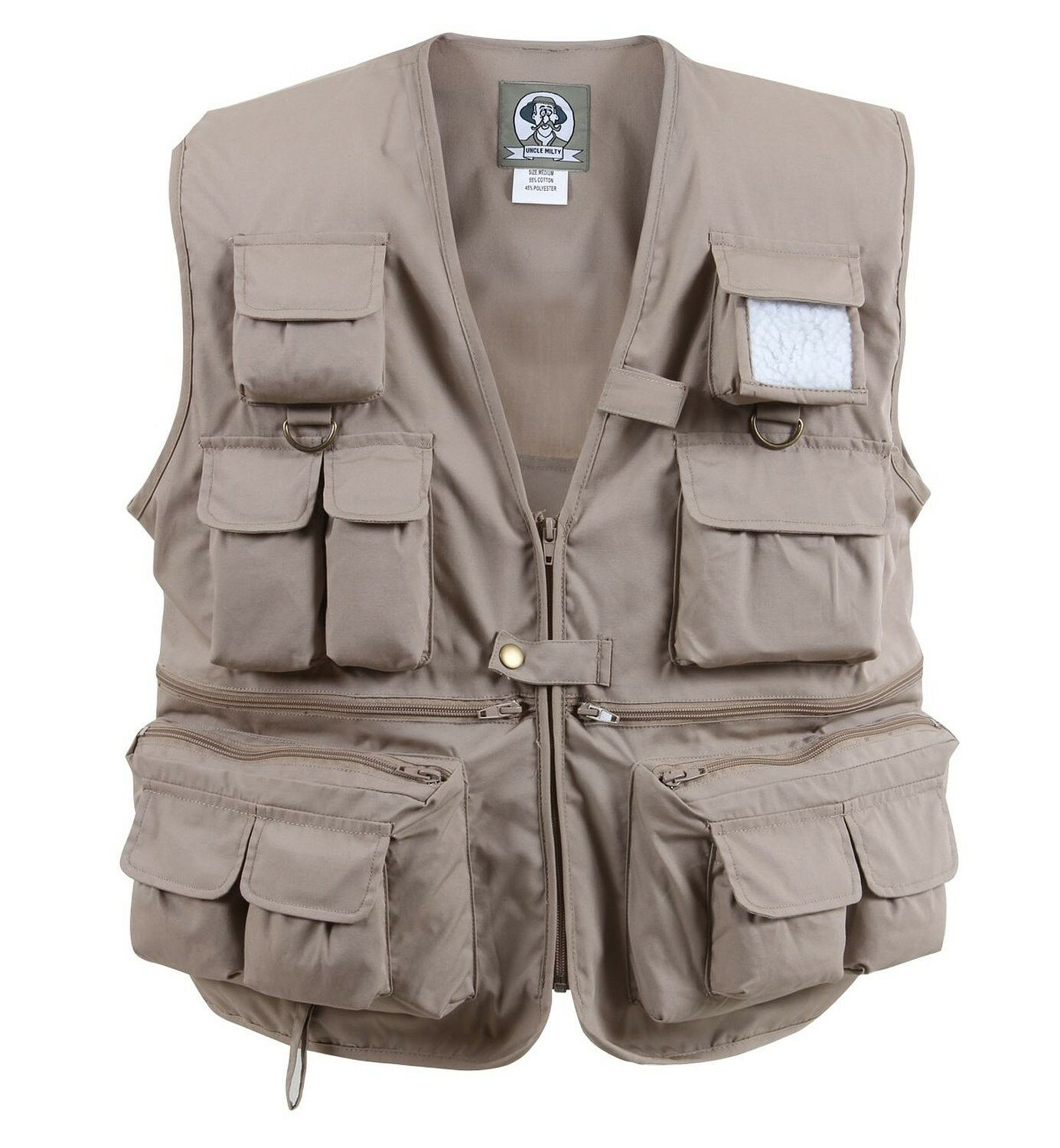 redhco 7546 Uncle Milty Khaki Travel Vest