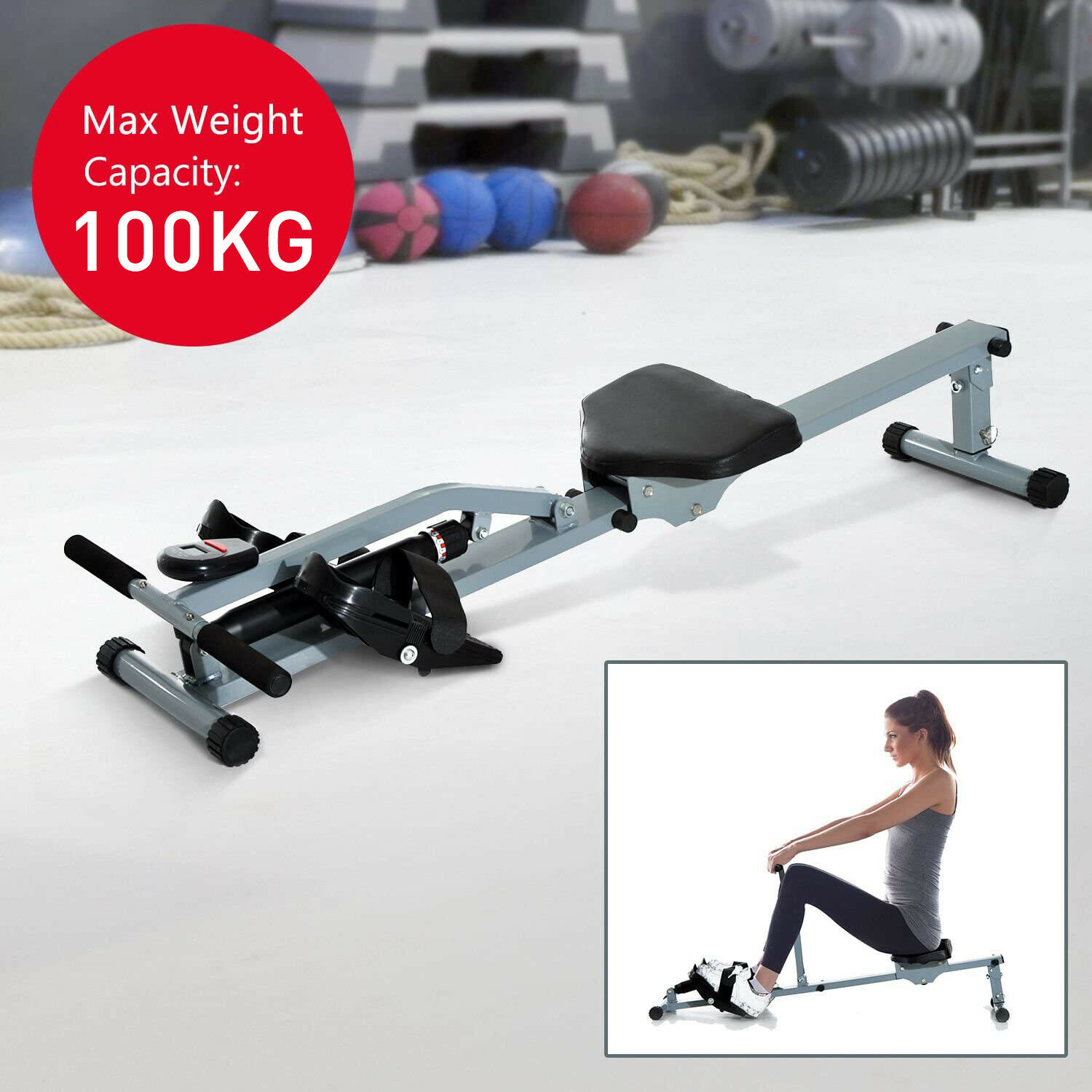 Waterrower A1 Rowing Machine Lightweight Portable Fitness Gym Home Cardio For Sale Ebay