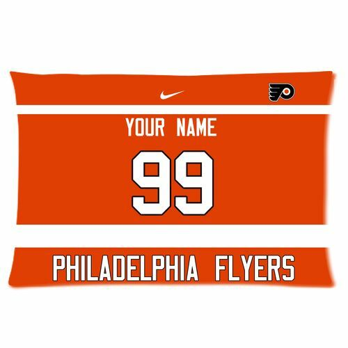 New Twin Sides Pillow Case Philadelphia Flyers Football With Ur Name And Numbers