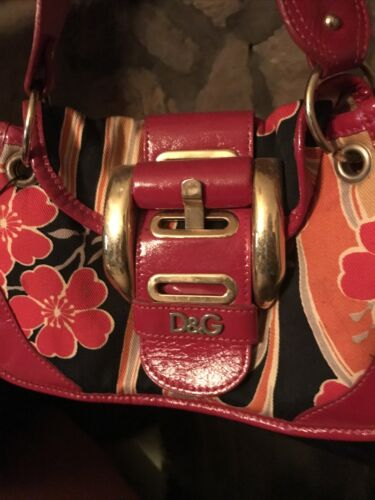 Vintage Authentic Dolce and Gabbana Bag *Must See*