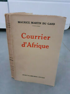 Envío De Autor - Maurice Martin de La Gard - Correo de África - 1931