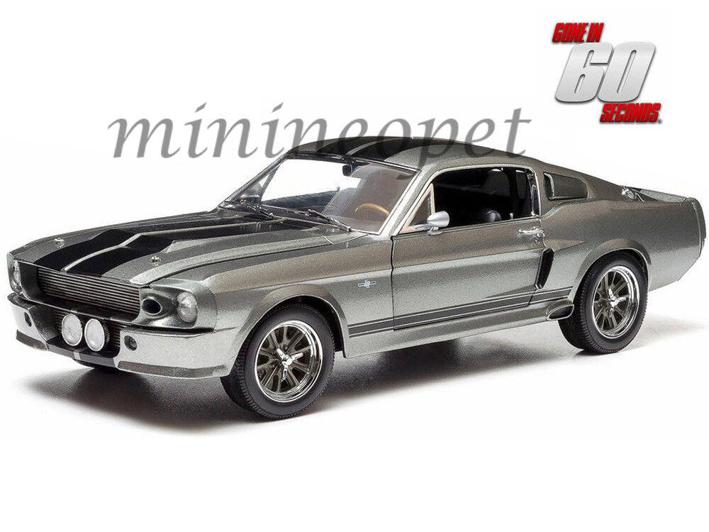 suministramos lo mejor verdelight 12909 ido en en en 60 segundos 1967 Ford Mustang Personalizado Eleanor 1 18 gris  tienda en linea