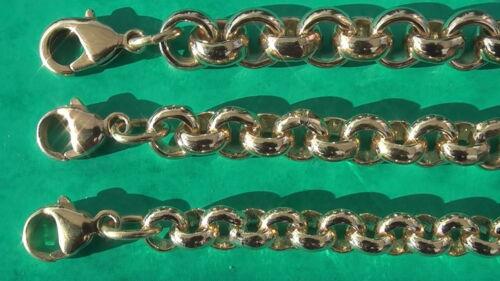 Erbskette 8mm 7mm 6mm 42cm bis100cm a elección erbsarmband a medida cadena de anclaje