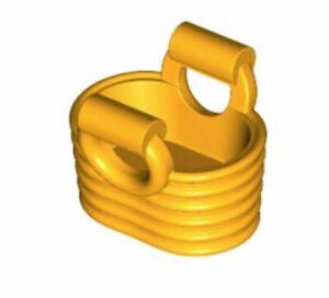 jaune orangé Bag 2 x LEGO 18658 Minifigure Sac Panier Basket NEUF NEW