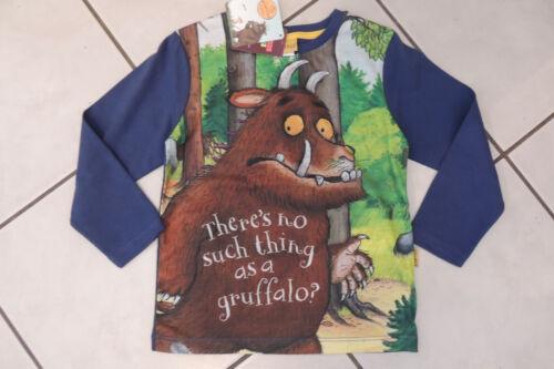 Langarmshirt Shirt Pullover Junge Kinder Der Grüffelo 83063 Neu 98,104,116,128