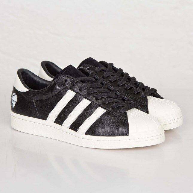 info for 69e56 a0061 Adidas Superstar 80v x Adi Dassler B26279 Core black Men Men Men Size US 12  NEW