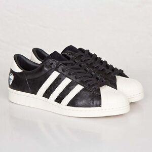 bde57fcf6f8e5 Adidas Superstar 80v x Adi Dassler B26279 Core black Men Size US 12 ...