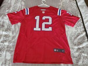 TOM BRADY NEW ENGLAND PATRIOTS NFL JERSEY SIZE 52 NIKE REPLICA | eBay