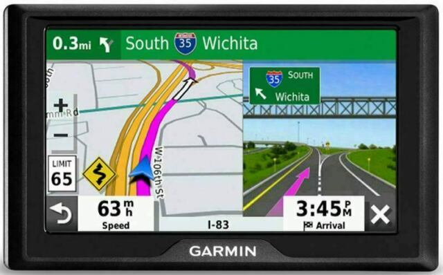 "Garmin Drive 52: GPS Navigator with 5"" Display Features Easy-to-Read menus"