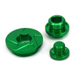 CNC Oil Filter Plugs Cap Bolts Timing Screw For KX250F KX450F KLX450R