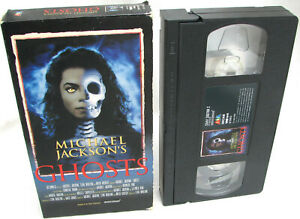 Michael-Jackson-VHS-GHOSTS-Cassette-Video-Tape-Clip-Film-Making-Of-French-1997