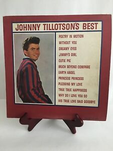 Johnny-Tillotson-039-s-Best-034-Rare-034-LP-Cadence-CLP3052-Featuring-Poetry-in-Motion
